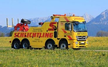 Werbung auf Ihrem LKW - oder Bus Wir machens:Werbung & Beschriftung in Mauerstetten - Metzig ist fetzig!