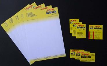 Geschäftsdrucksachen, Werbedrucksachen, Briefbogen, Visitenkarten, Flyer, Schreibblöcke:Werbung & Beschriftung in Mauerstetten - Metzig ist fetzig!